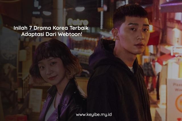 Inilah 7 Drama Korea Terbaik Adaptasi Dari Webtoon!