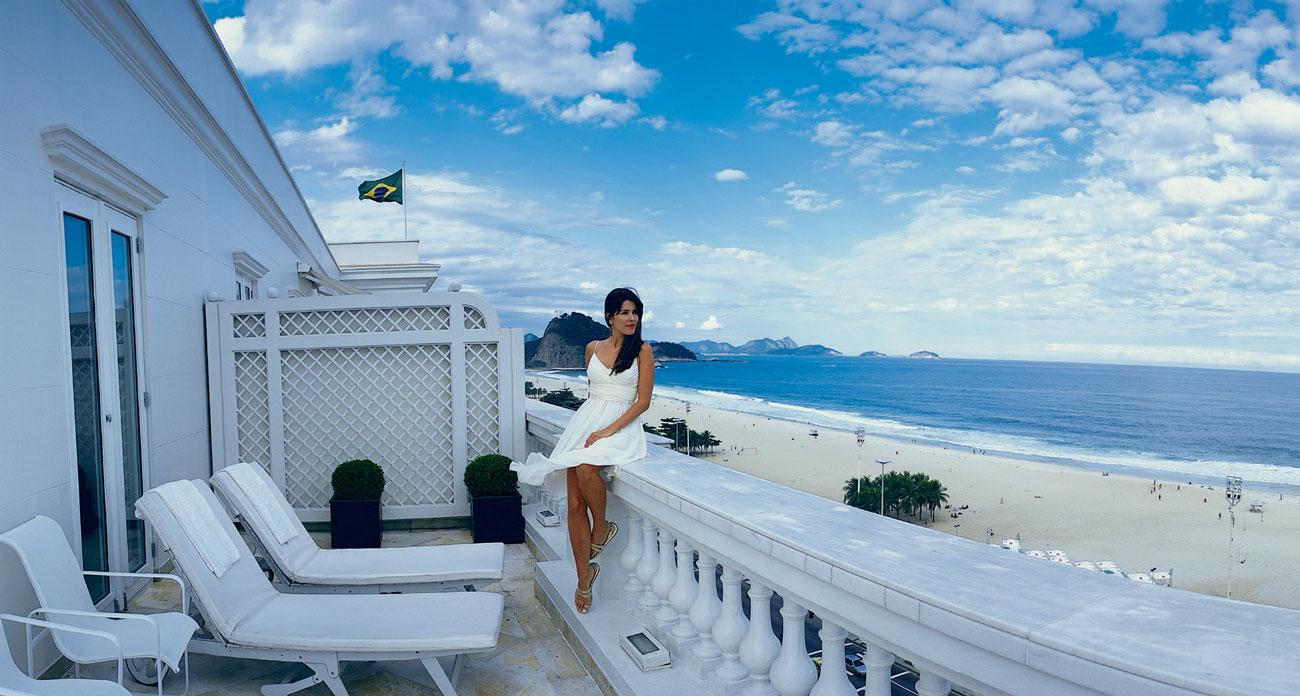Belmond Copacabana Palace Hotel Beach