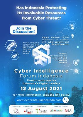 Ikutilah CYBER INTELLIGENCE FORUM 12 August 2021