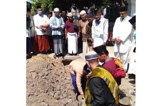 Feri Letakan Batu Pertama Pembangunan Gedung Pengembangan Al-Quran