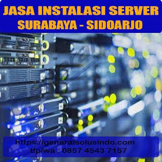 jasa konfigurasi server surabaya dan sidoarjo