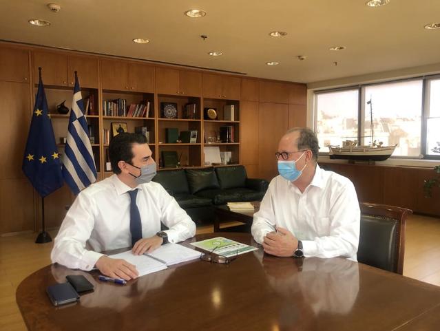 Ο Σκρέκας διαβεβαιώνει οτι το φυσικό αέριο θα φτάσει οπωσδήποτε σε Άργος, Ναύπλιο, Σπάρτη και Καλαμάτα