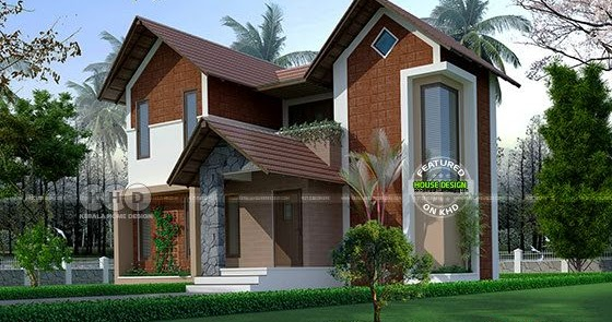 1230 Square Feet 2 Bedroom Double Storied House Kerala