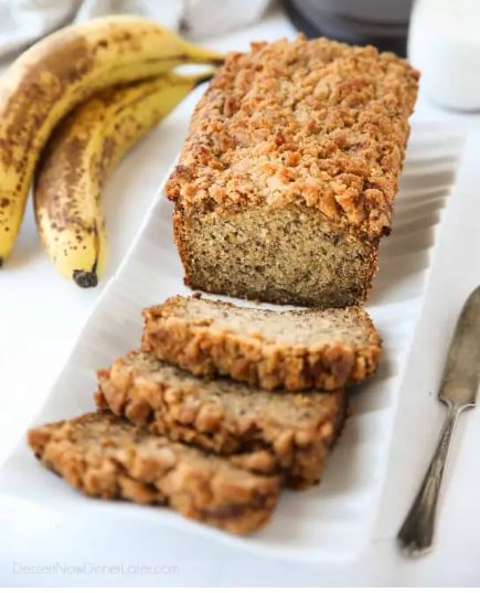 The 5 best CAKE BANANA BREAD recipes