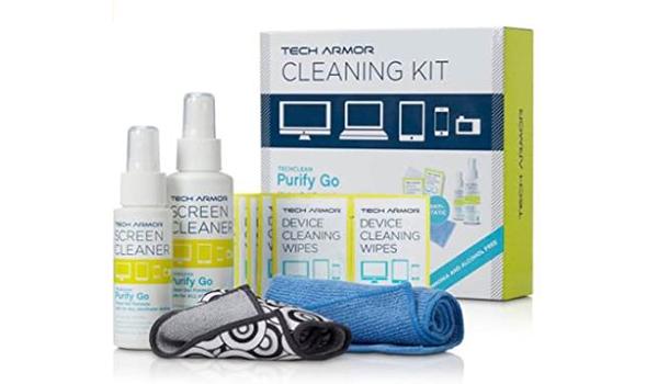مجموعة التعقيم Tech Armor Cleaning Kit من امازون