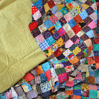 Postage Stamp Quilt: QuiltBee