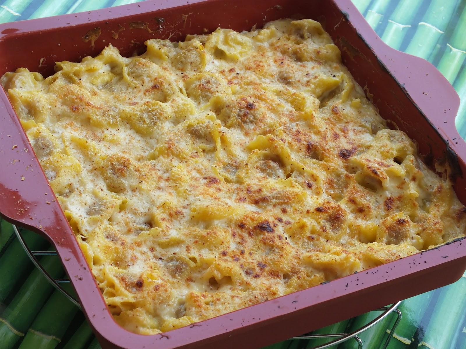 il pasticcio di tortellini preparato come spiegato in questa ricetta