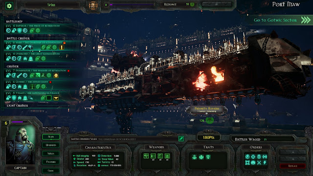 Review – Battlefleet Gothic: Armada fleet builder