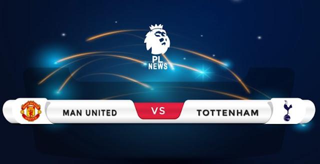 Manchester United vs Tottenham line-ups confirmed