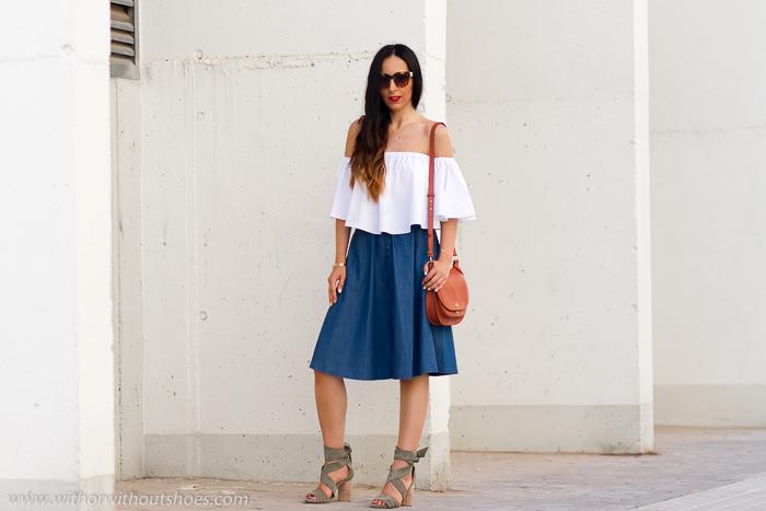 Influencer blogger valenciana con ideas outfits diarios para ir a trabajar