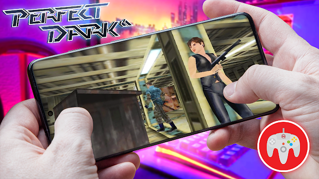 Perfect Dark Para Teléfonos Android (ROM N64)