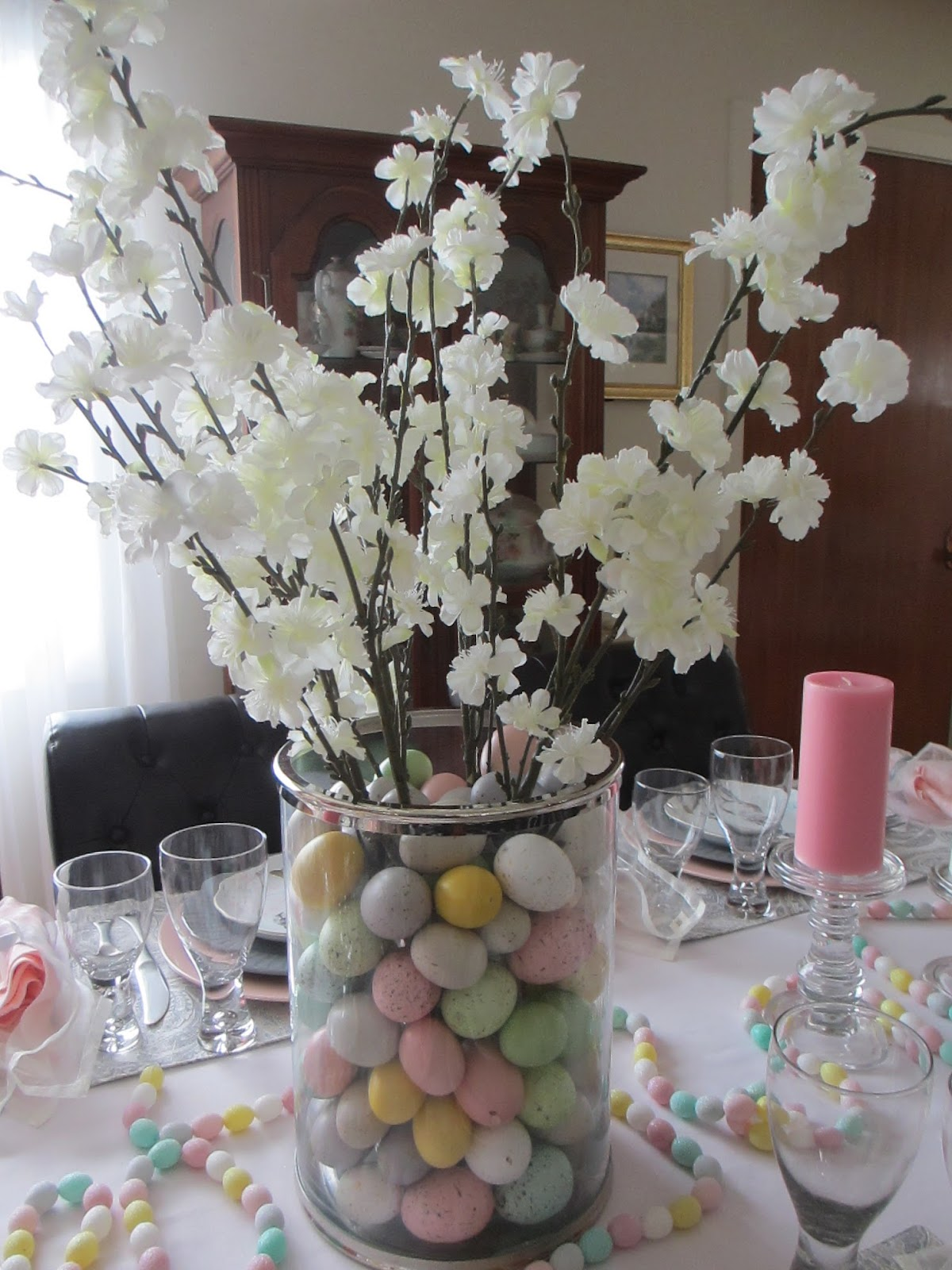 The Welcomed Guest Pastel Easter Table