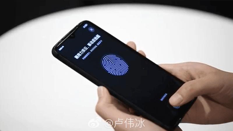 Redmi demos In-Display fingerprint scanner on LCD