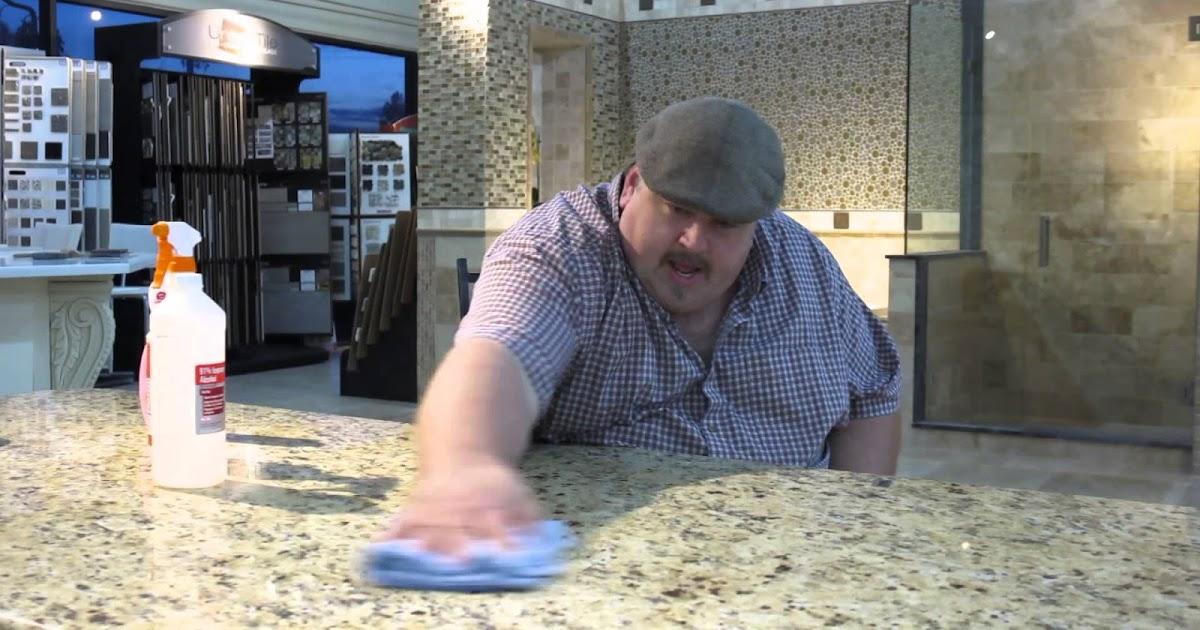Cara Membersihkan Granit Dapur Dari Berbagai Jenis Noda