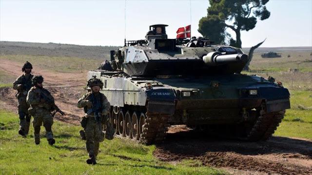 Dinamarca aprueba aumentar presupuesto militar ante amenaza rusa