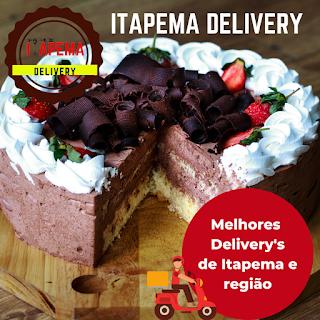 Entrega de bolos em Itapema