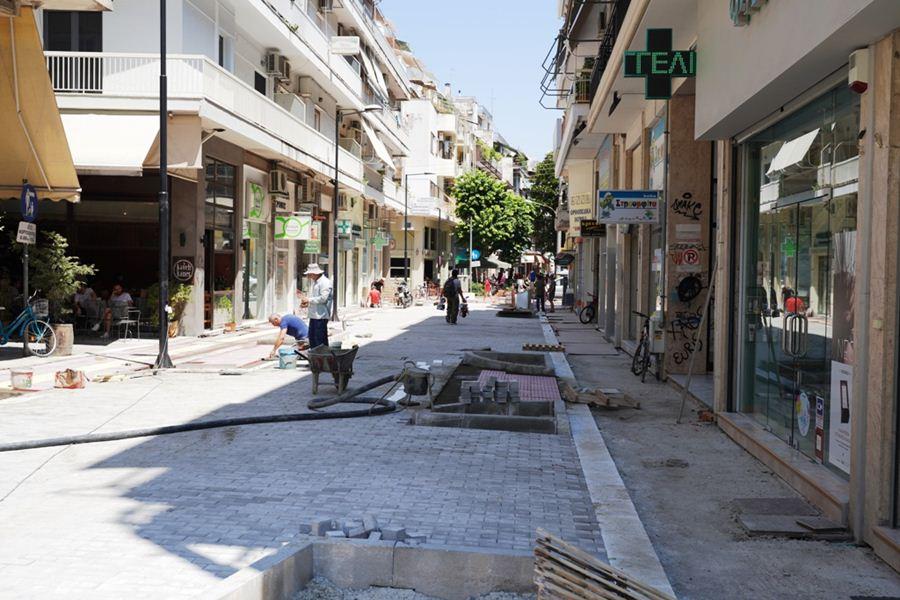 Παράταση κυκλοφοριακών ρυθμίσεων στην Ασκληπιού στη Λάρισα λόγω έργων
