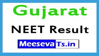 Gujarat NEET Result 2017