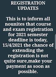 Registration Updates