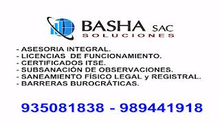 Trámite Licencia de funcionamiento o renovación Certificado ITSE