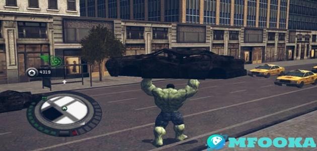تحميل لعبة the incredible hulk