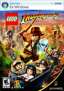 LEGO Indiana Jones 2: The Adventure Continues Cover