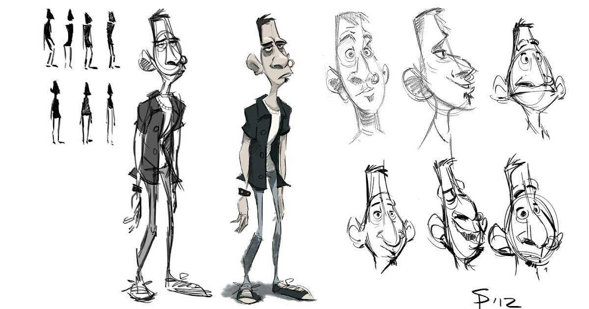What's Seanyboy Doing?: Character Design for Project