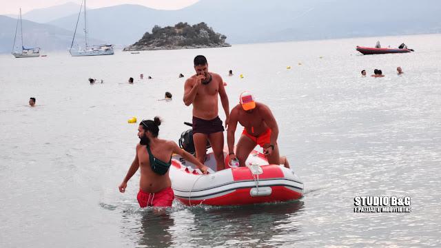 Καρδιοχτύπησαν για αγνοούμενο λουόμενο στο Ναύπλιο - Επιχείρηση για την διάσωση του (βίντεο)