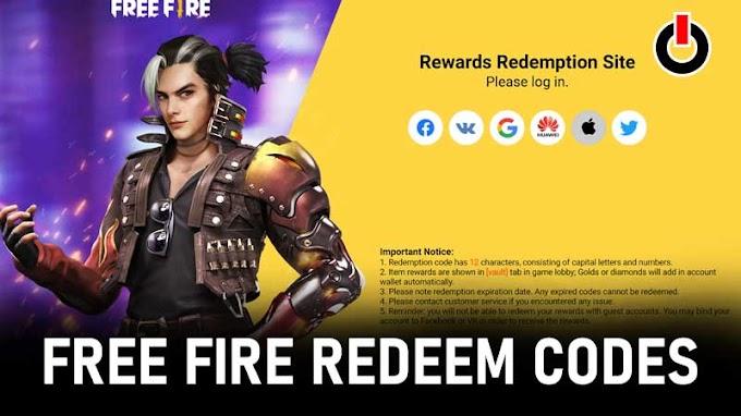 Free Fire Resgate Code Today (12 De Abril De 2021) Servidor Da Índia E Indonésia