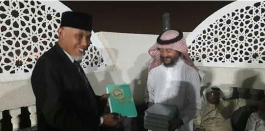 Tak Ada Duanya, Buya Mahyeldi, Satu-satunya Calon Gubernur yang Pernah Jadi Imam Salat di Masjidil Haram