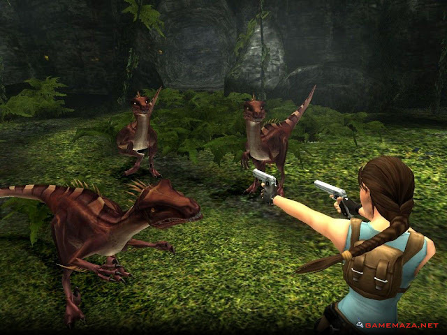 Tomb Raider Anniversary Gameplay Screenshot 2