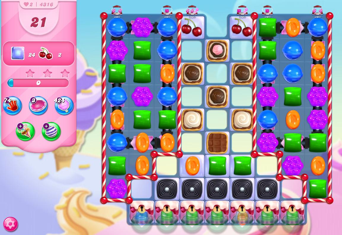 Candy Crush Saga level 4316