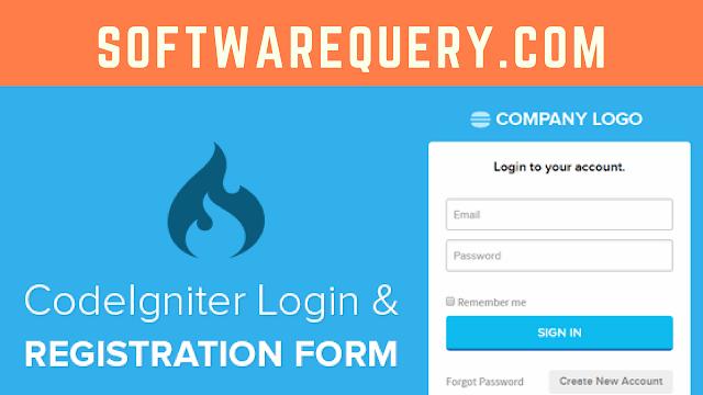 Codeigniter Ajax Registration Form