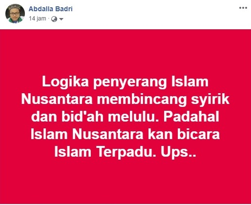 menjawab masalah islam nusantara