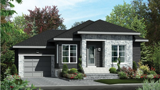 20 new american style houses with floor plans that you can for New american house style
