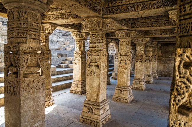 Pillared Pavilions