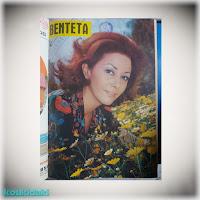 Εξώφυλλο με την Γκέλυ Μαυροπούλου