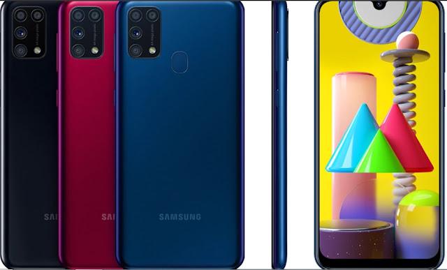 Harga dan Spesifikasi Samsung Galaxy M31