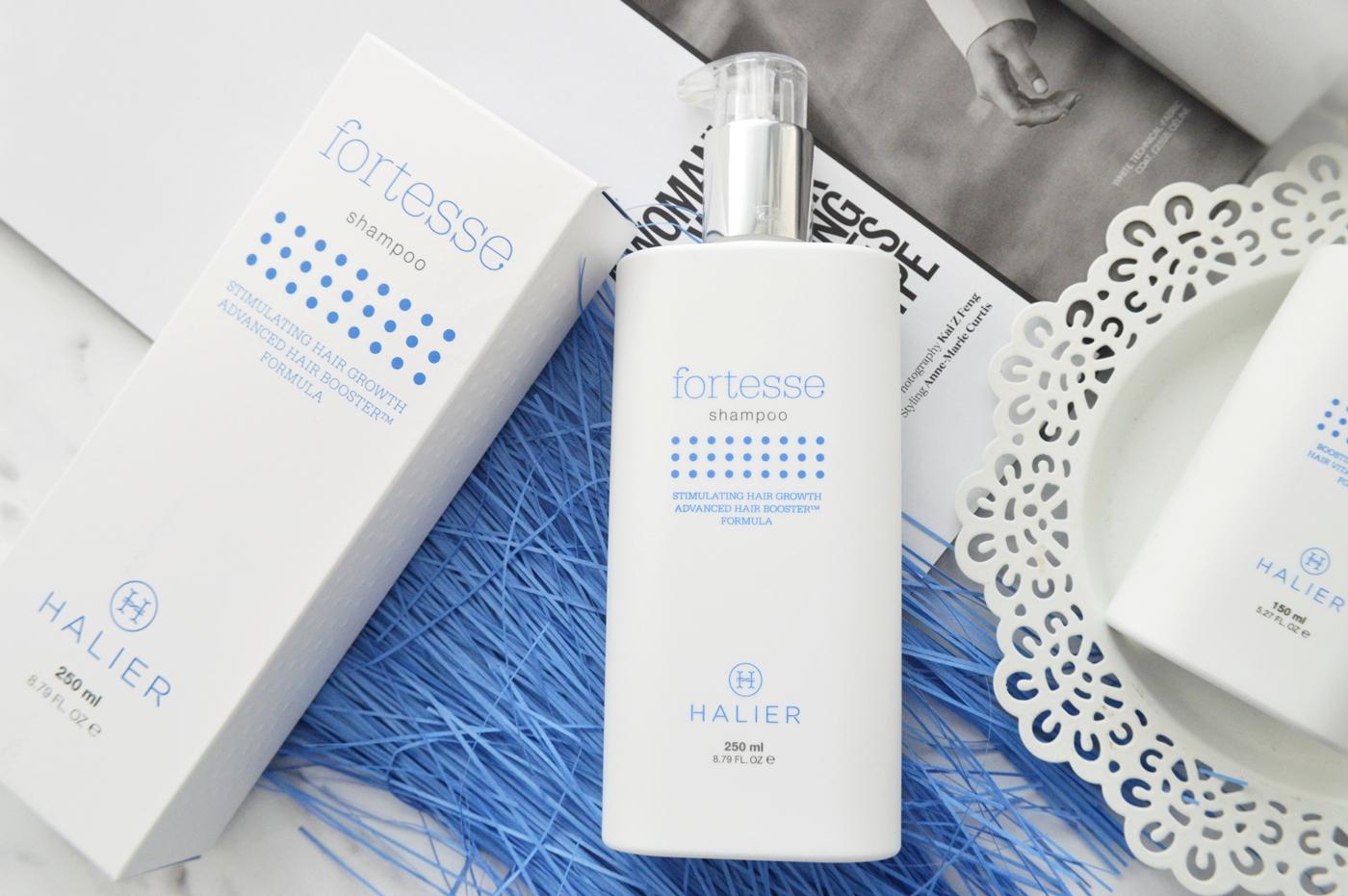 szampon do włosów Fortesse Halier