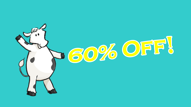 Take 60% Off! HURRY, SALE ENDS SOON