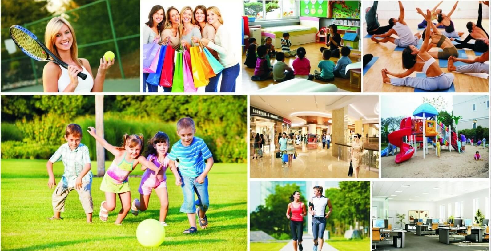 Khu vui chơi và nhà trẻ dành tại chung cư Roman Plaza