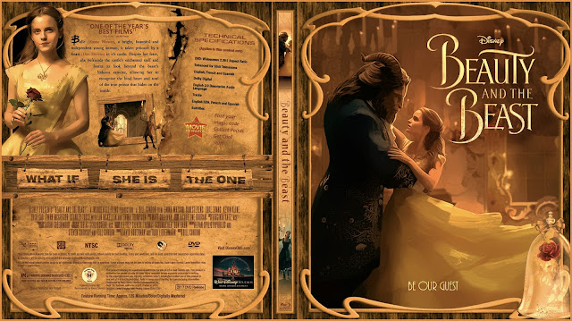 Beauty And The Beast Bluray Cover
