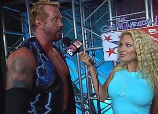 WCW - The Great American Bash 2000 - Pamela Paulshock interviewed Diamond Dallas Page