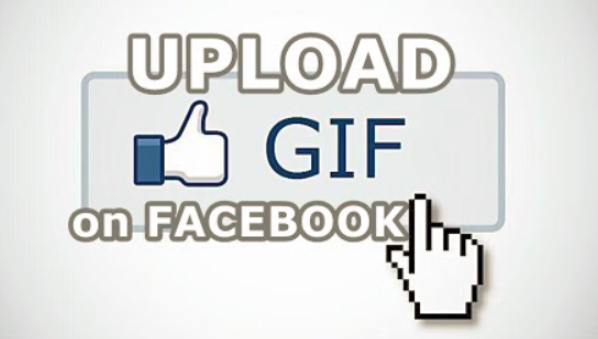 How to post a gif on someones facebook page