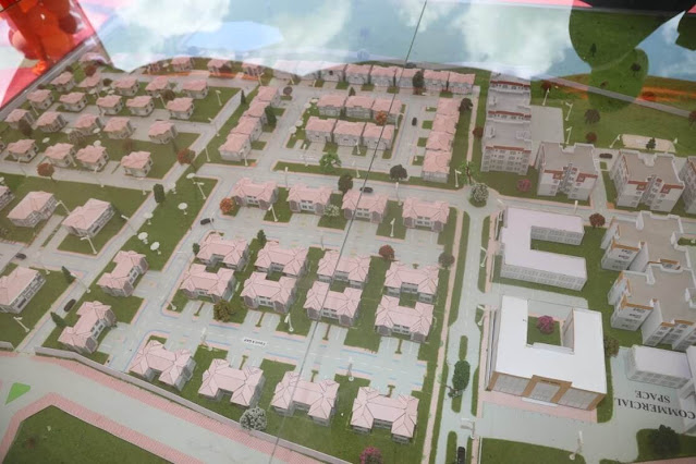 Kitui affordable housing project map