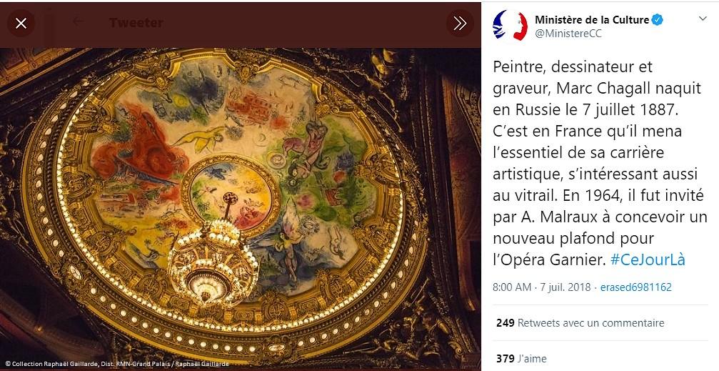 Veronique Chemla Chagall A L Opera Le Plafond De La Discorde De Laurence Thiriat