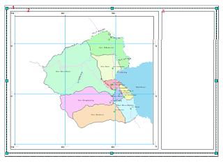 Membuat Template Layout ArcGIS membuat rectangle untuk tempat atribut