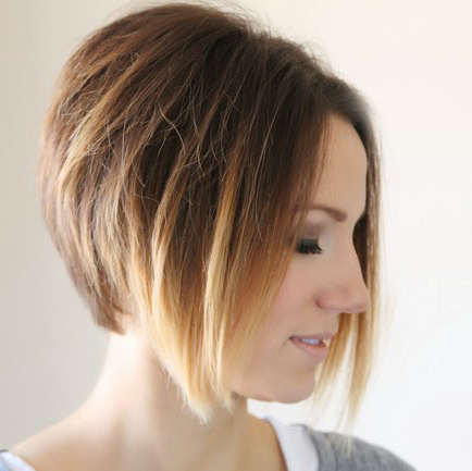 Styling An Angled Bob Easy Everyday Tutorial One Little