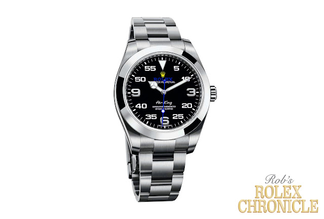 image of a Custom Indigo Rolex Air-King Design Idea