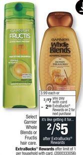 Garnier Whole Blends Shampoo, Conditioner